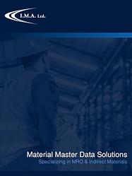 IMA Ltd. MRO Master Data Solutions eBrochure