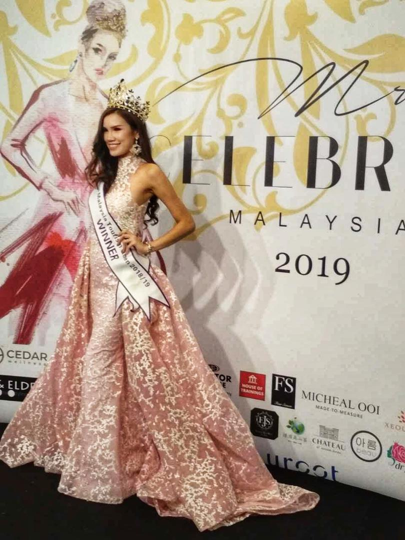 Joey Chun,Miss Malaysia Tourism Queen 2019