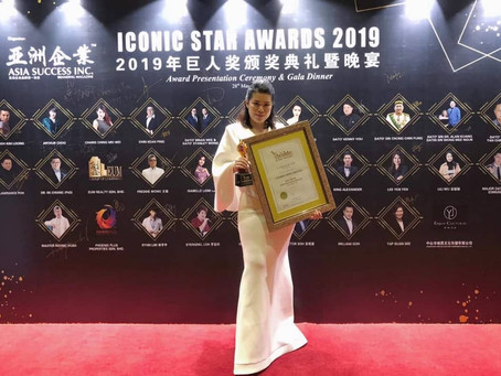 Recognized by ICONIC STAR AWARDS 2019