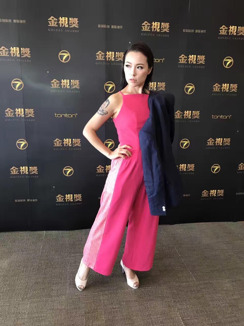 Mandy Chen at Golden Awards 2017