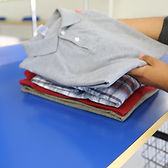 Wash Works Monrovia and Highland Park Folding Shirts