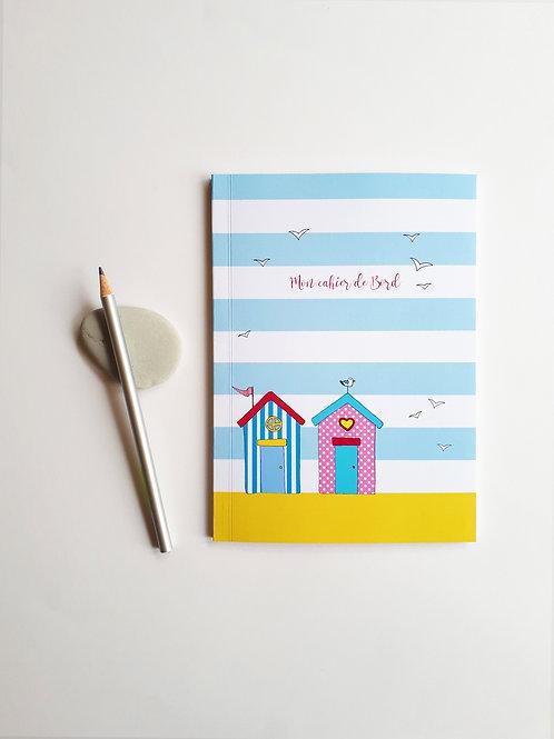 Mon cahier de bord, cabines de plage