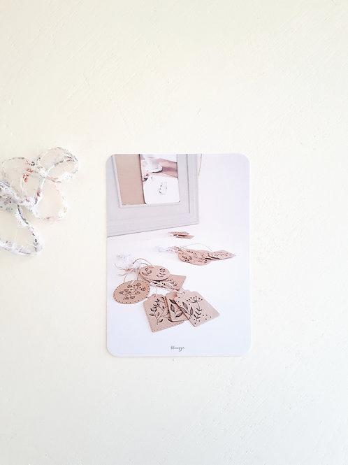 252 carte photo petites étiquettes
