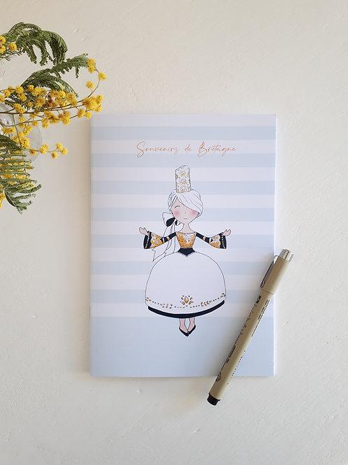 9 cahier Souvenirs de Bretagne