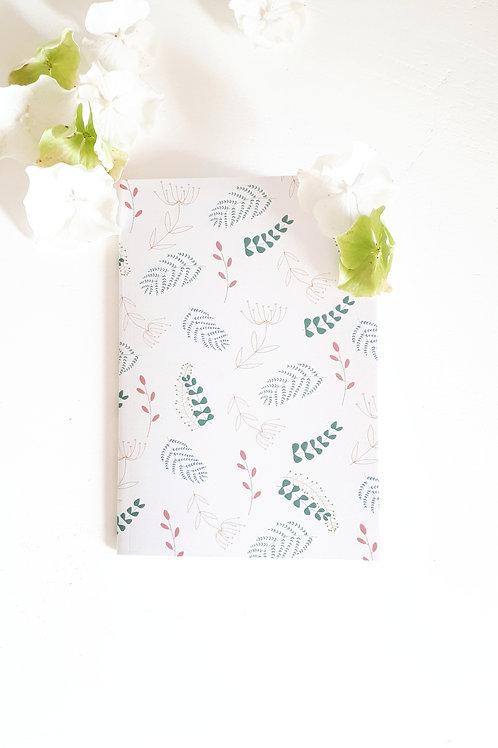 22 carnet de notes végétal