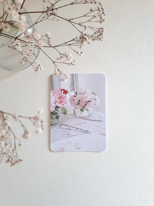 264  carnets fleuris et ses roses