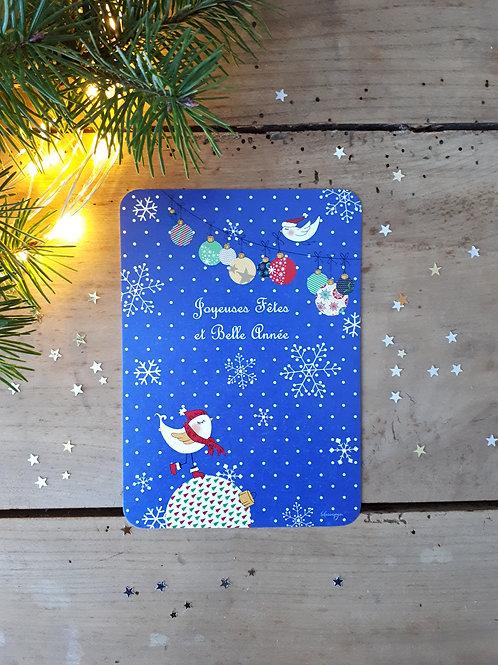 68 Oiseaux et boules de Noël