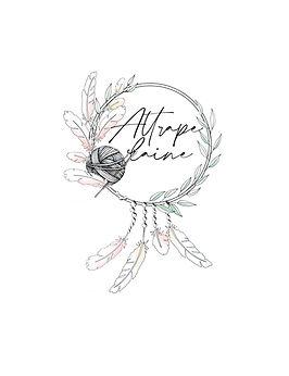 logo pour  insta attrape laine couleurs.