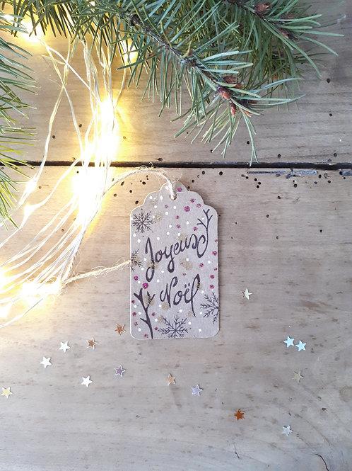 15 étiquette Joyeux Noël