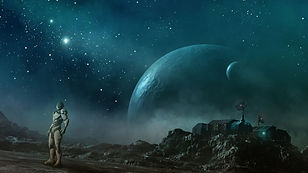 planetyi_zvezdyi_galaktiki_robot_skafand