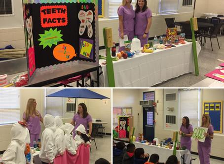 Omega School Dental Hygiene Presentations
