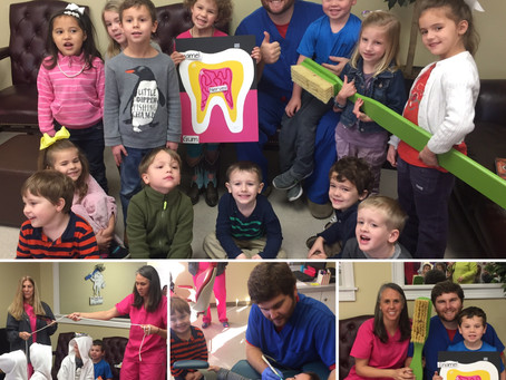 FUMC Preschool Visits Our Office