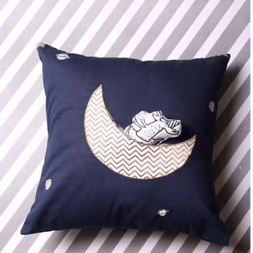 The Moon's Elves Cushion Cover and Toy