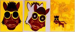 horse mask invite