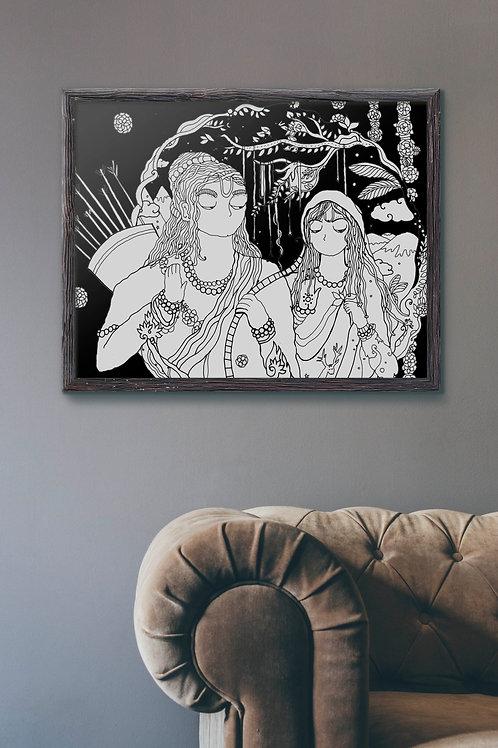 Lord Rama & Sita's Sojourn: Poster