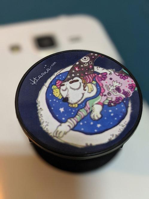Moon jumper - Mobile pop socket