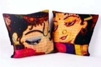 Divine Love (Set of 2 cushions)