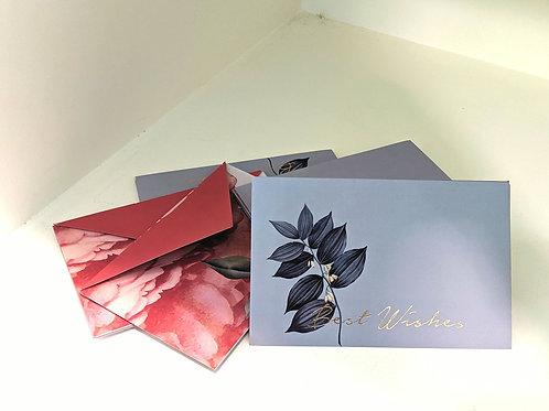 Gift envelopes (set of 6)- the secret garden