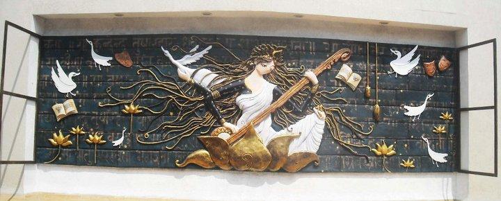 Saraswati,Goodess of all Arts