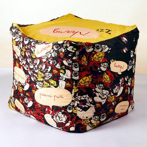 Kumbhkaran Bean Bags - Yellow