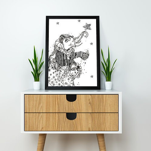 Jolly Jumbo Poster - A3