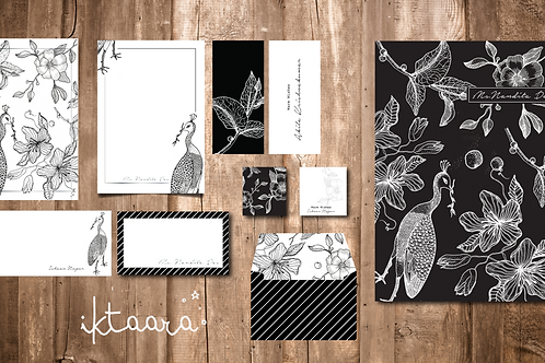 The Bird and The Flower Stationary Hamper