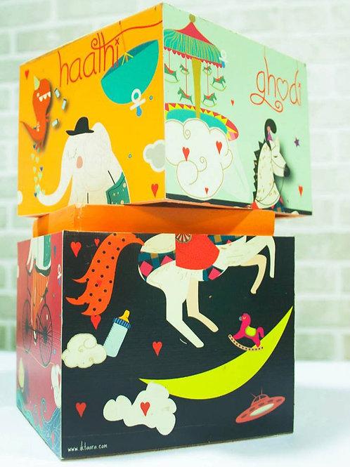 Gift Boxes for Children: Hathi Godi Palki Boxes