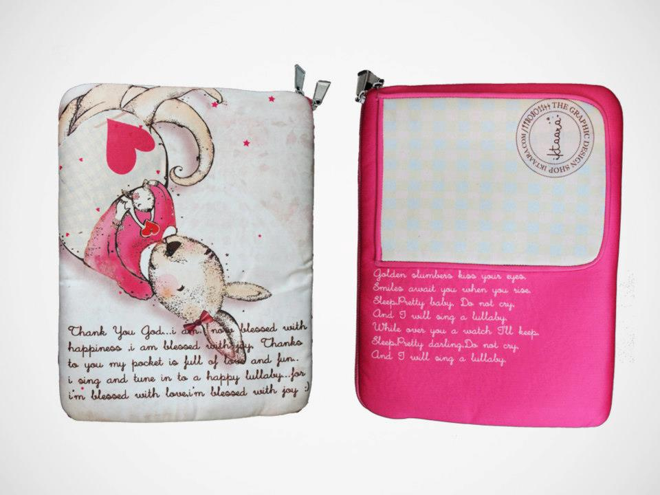 Its a Girl ipad sleeve
