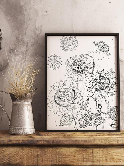 The Sun's Flower: Poster