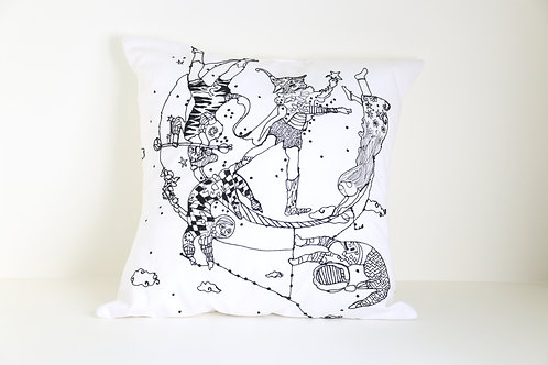 Celestial Trapeze Cushion Cover