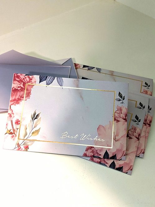 Gift envelopes (set of 6)- it's a floral party
