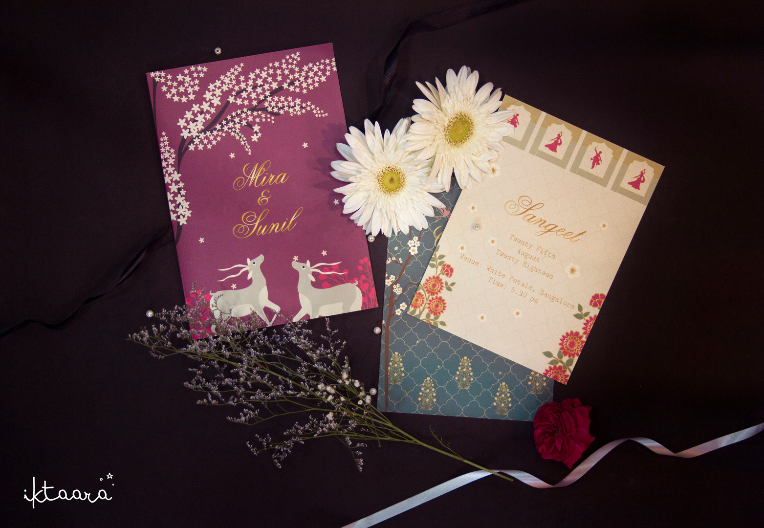 A Simple Wedding Invite