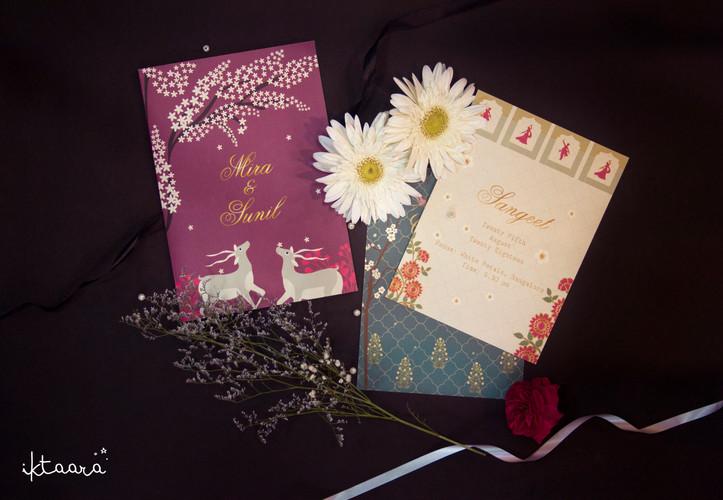 A Simple Wedding Invite