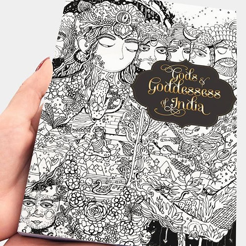 Colouring Books - Gods & Goddesses of India