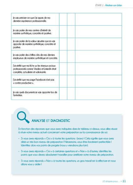 10 etapes - Preparer et reussir entretie