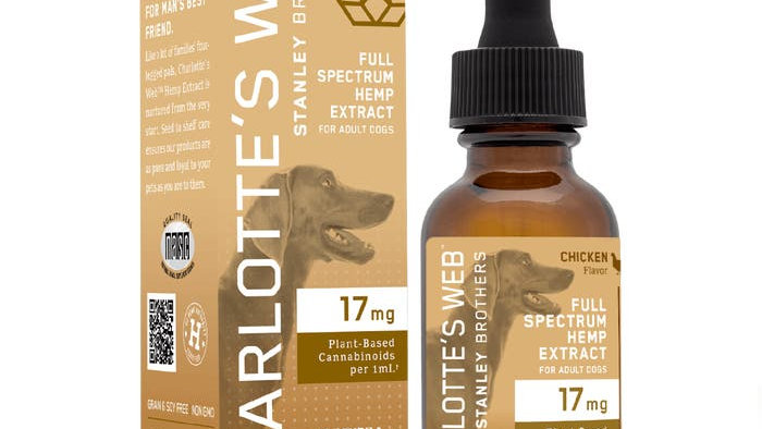 Dog CBD oil - Charlotte's Web 30ml
