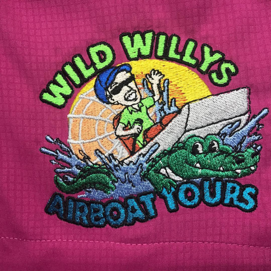 St Cloud Printing Custom Embroidered Wil