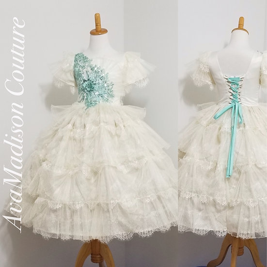 AvaPeonetta Flower Girl Dress.