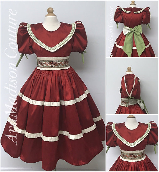 AvaLinda Princess Girl Victorian Ballet Dress.
