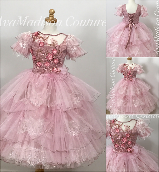 AvaPeonella Flower Girl Dress.