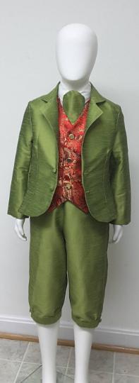 AvaFritz Boys Outfit - Jacket. Vest. Knickerbockers. Cravat.
