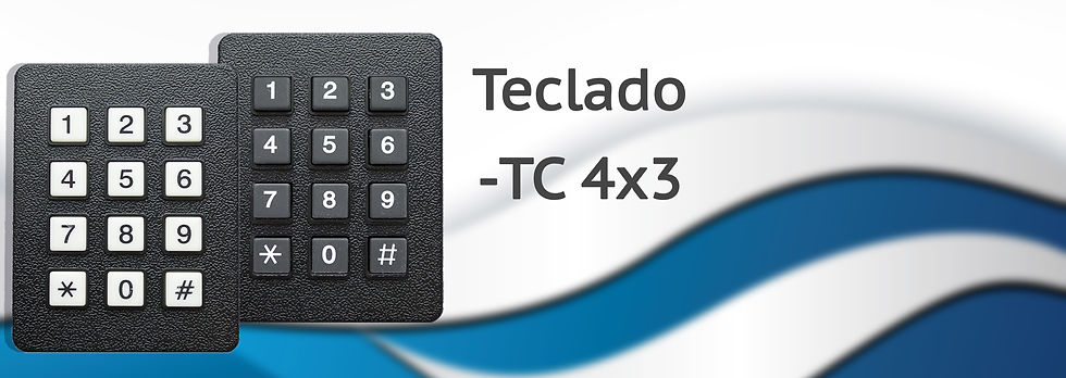 Teclado TC-4X3 Comercializadora TEJECI