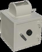 Caja fuerte con cerraduras electrónicas