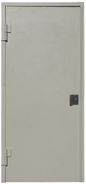 Puerta blindada con manija