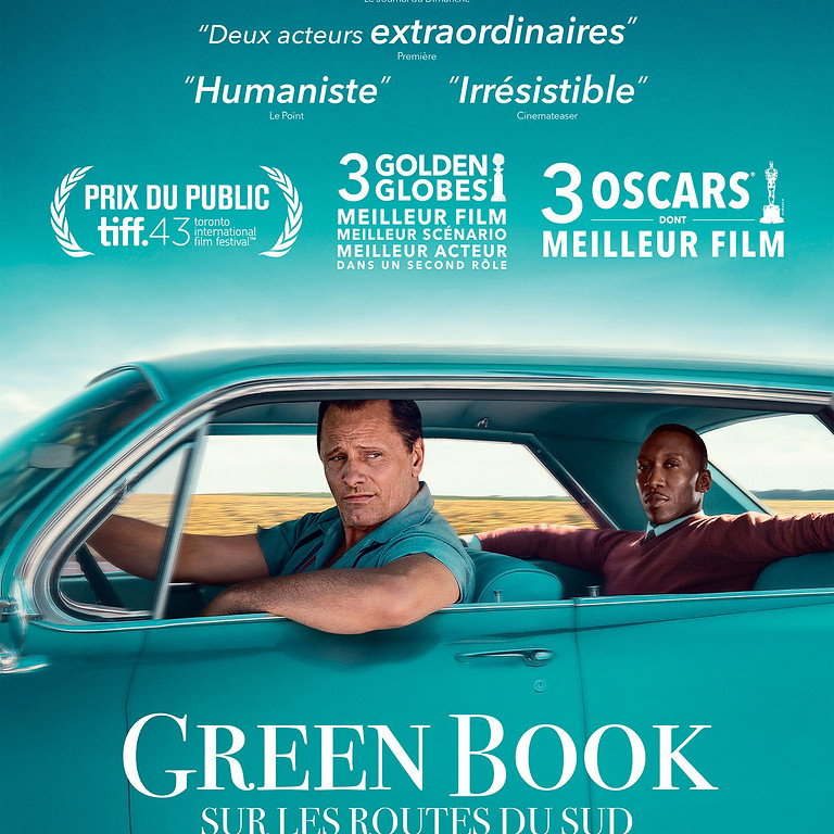 """Projection du film """" Green Book """""""
