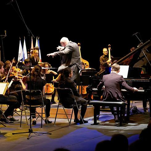 Orchestre Symphonique du CRR de Cergy-Pontoise / Benoît Girault, direction & Ilia Ovcharenko, piano