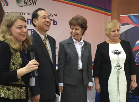 Launching the International School of Social Work in Russia