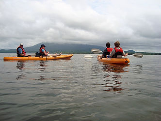double kayak lake ometepe
