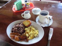 nicaraguan local breakfast