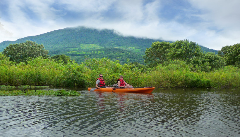 Double kayak Maderas volcano